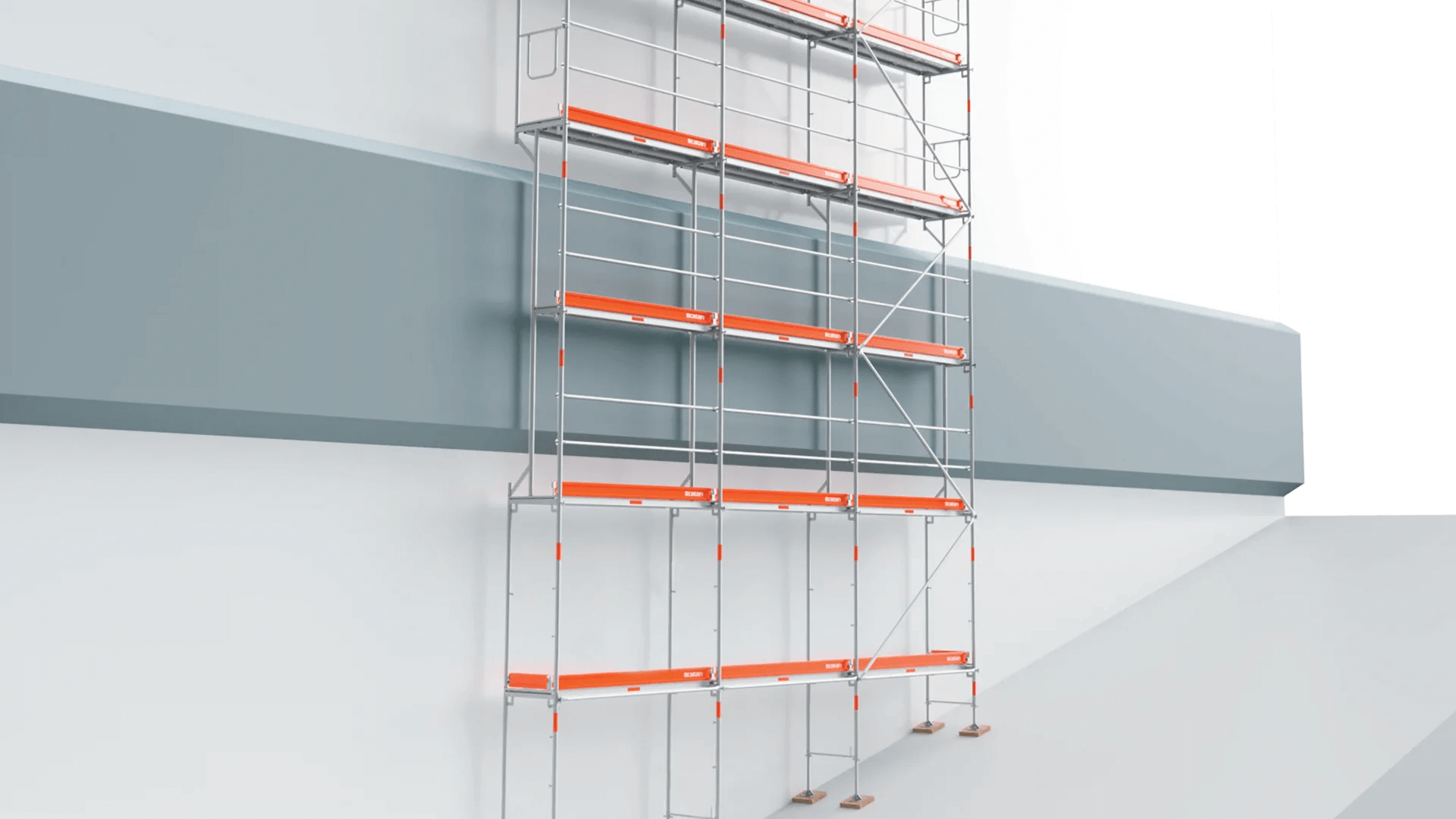 sfa48 scpecial scaffold frames, scaffold for roofing